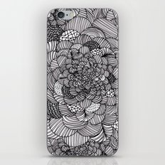 Ink flowers iPhone & iPod Skin