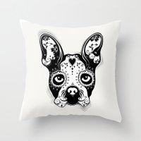 B.Terrier  Throw Pillow