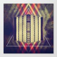Argyle Turnstile Canvas Print