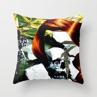 HER RUBY MY EMERALD Throw Pillow