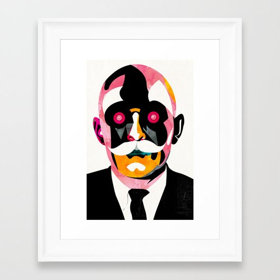 Automata Framed Art Print