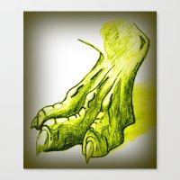 Dragon's Claw Canvas Print