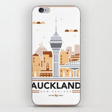 City Illustrations (Auckland, New Zealand) iPhone & iPod Skin