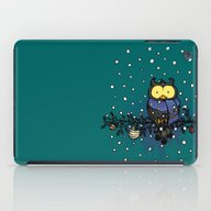 Owl In The Snow iPad Case