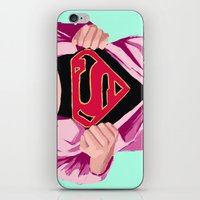 Girl, you're super iPhone & iPod Skin