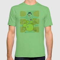 My beat Mens Fitted Tee Grass SMALL