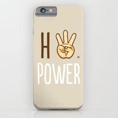 HiiiPower (w/text) : Pale Slim Case iPhone 6s