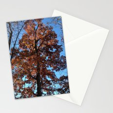 Oak Tree at Dawn Stationery Cards