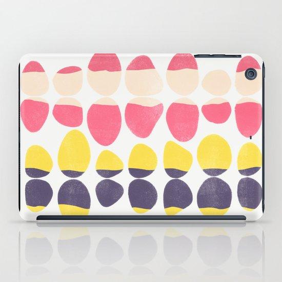 Painted Pebbles 3 iPad Case