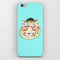 Rad Tiger iPhone & iPod Skin