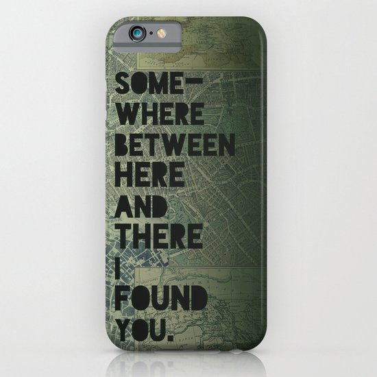 Here & There III iPhone & iPod Case