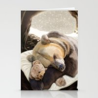 Sweet dreams, Mr Bear Stationery Cards