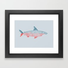 Killer Surf Framed Art Print