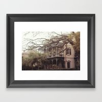 New Orleans Southern Beauty Framed Art Print
