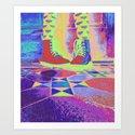 Rainbow Style Art Print