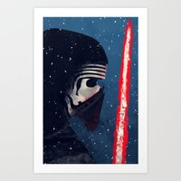 Kylo (Knight of Ren) Art Print