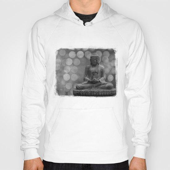 buddha light (gray) Hoody