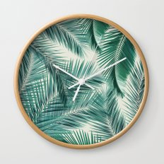 Palms Wall Clock