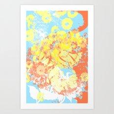 floral 003. Art Print