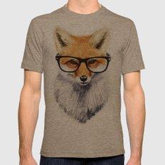 Mr. Fox Mens Fitted Tee Tri-Coffee MEDIUM