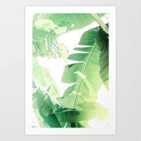 Jungle Abstract II Art Print