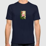 A Tale Of Two Roses Mens Fitted Tee Navy SMALL