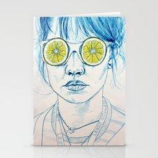 Lemon Lady Stationery Cards