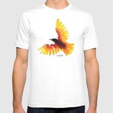 Hope bird. Mens Fitted Tee White SMALL