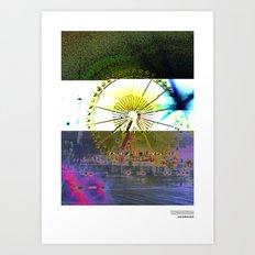 //RIE/SENRAD+BLAU Art Print