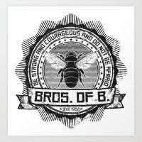 Bros. of B. Light Art Print