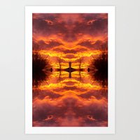 Sky within Art Print
