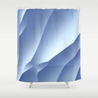 Snow Drift Shower Curtain