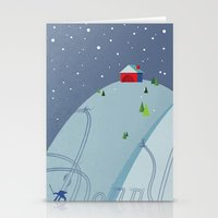 Holiday Hills Stationery Cards