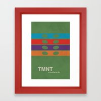 TMNT Framed Art Print