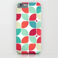 iPhone & iPod Case featuring Vintage Garden Pattern by VessDSign