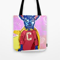 Cyrus The Superhero  Tote Bag