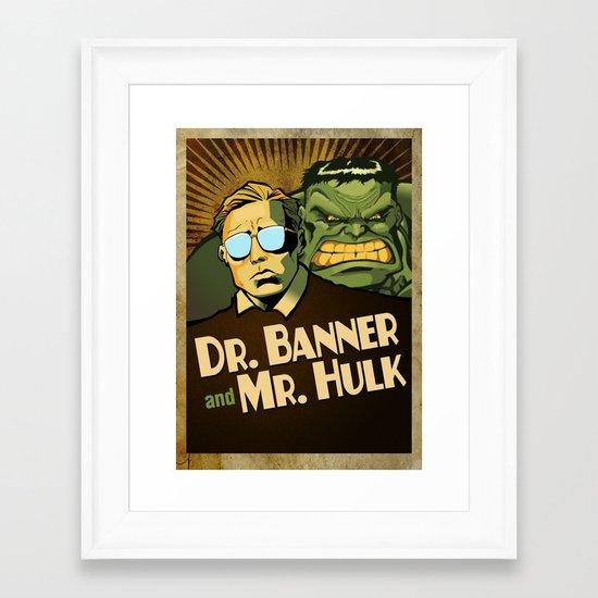 A Banner Year Framed Art Print