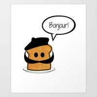 French Toast Art Print