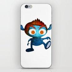 Mr. Blue iPhone & iPod Skin