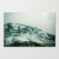 Ice Wall Canvas Print