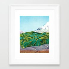the fabric of reality (firm) Framed Art Print