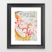 And A Thousand Leaves Ma… Framed Art Print