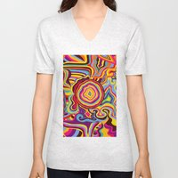 The Dancing Colors Unisex V-Neck