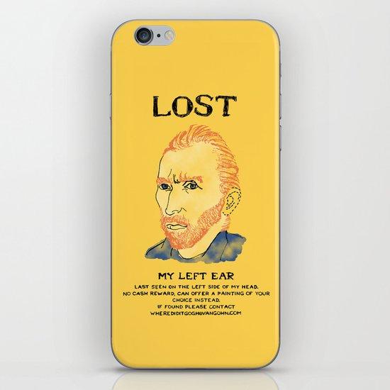 Where did it Gogh? iPhone & iPod Skin