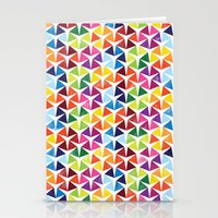 Tessellating Triangles Stationery Cards