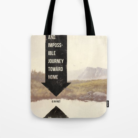 Endless Journey Home Tote Bag