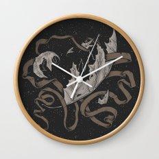 Night falling  Wall Clock