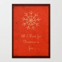 For Christmas! Canvas Print