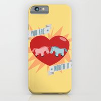 Unicorns are Worth It iPhone 6 Slim Case