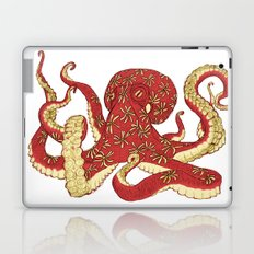 Flowered Octopus Laptop & iPad Skin